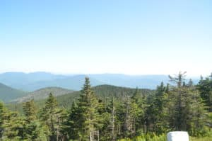 View from the summit of Mount Equinox