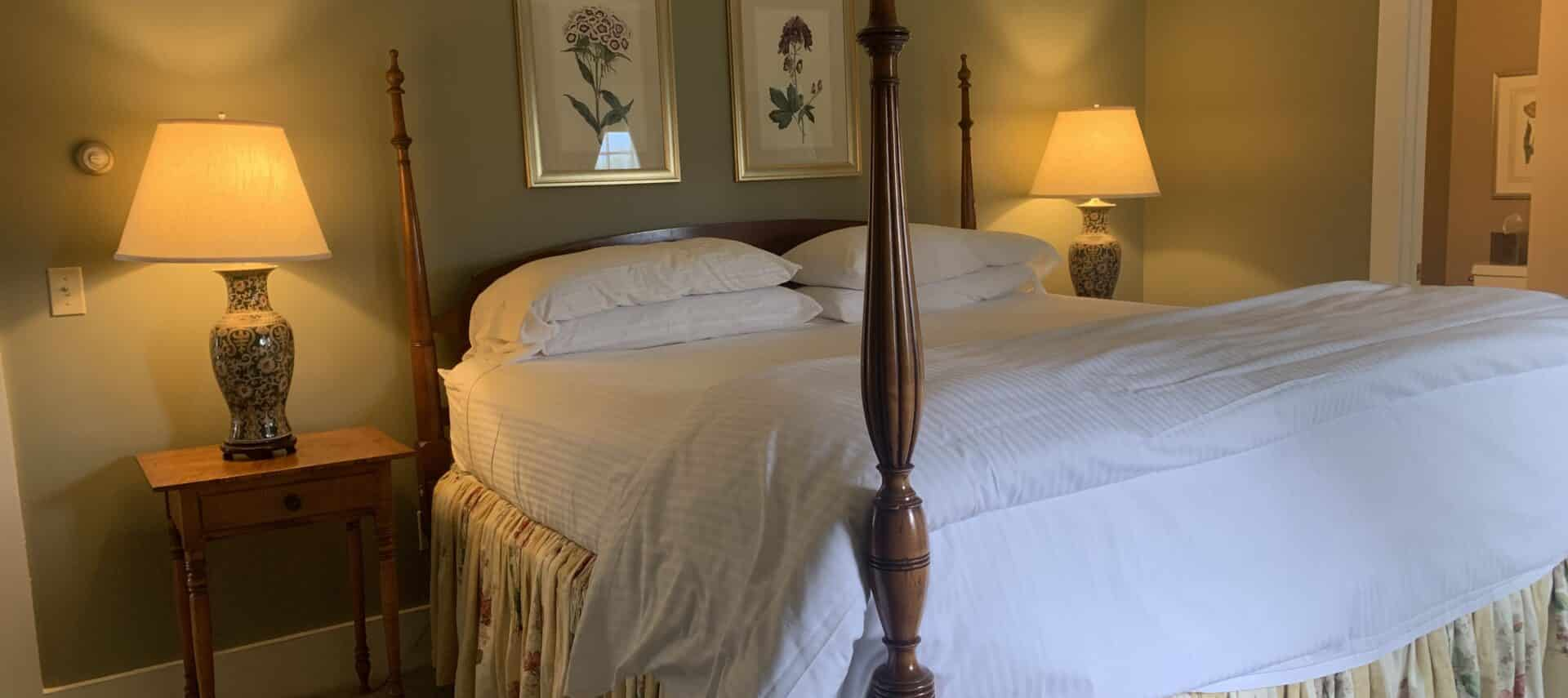 The Pierrepont four pofster king bed